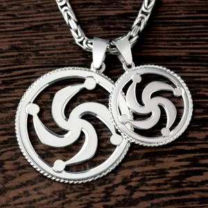 Символ Рода из серебра