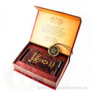 Золотое Таро Висконти - подарочный набор